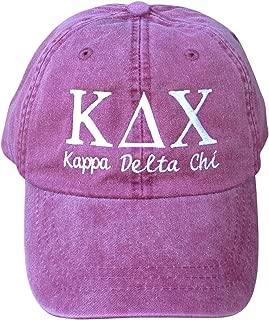 Mega_Greek Womens Kappa Delta Chi Script Baseball Cap