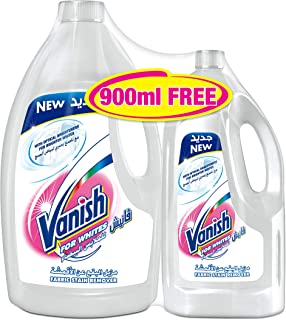 Vanish Stain Remover Liquid White 3L + 900ml