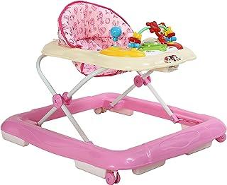 Nachhaltiges Geschenk zum Lernen EasY FoxY ToY Baby Lauflernwagen Holz; Stabiles Lauflernhilfe Spielzeug f/ür Kinder ab 1 2 Jahre; Gehhilfe Holzspielzeug mit Motorik f/ür Jungen M/ädchen