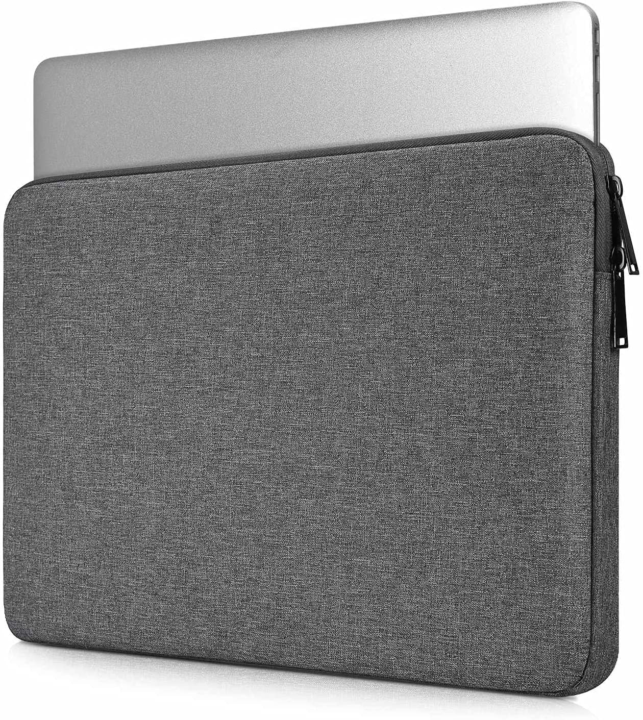 15.6 Inch Waterproof Laptop Case for Dell Inspiron 15 3000/ Dell Gaming G3, Asus Vivobook F512JA 15.6, HP Pavilion 15.6 and Lenovo Samsung Acer Laptop Chromebook Bag(Space Grey)