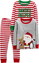 santa's little helper pajamas
