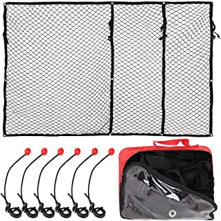 XSTRAP Super Duty Cargo Net for Truck Bed   6 Adjustable Ball Rope to Fixed The Net (4.5'x6.5')