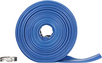 Blue Devil 75-Foot Backwash Hose for Pool with Hose Clamp, 2