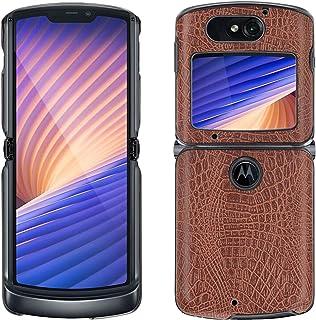 Compatible with Moto Razr 5G 2020 Phone Case,Front+Back PU Cover Shell Protective Cases for Motorola Moto Razr 5G Hard Cov...