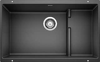 Blanco 519450 Precis Cascade Single-Anthracite Sink, Bowl w