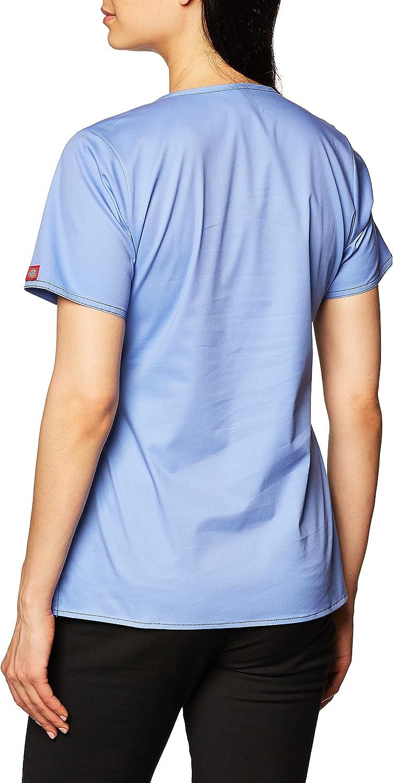 Dickies Scrubs Women's Gen Flex Mock-Wrap Shirt