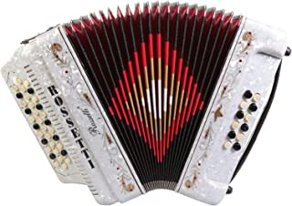 Rossetti, 34-Key Accordion (ROS3412-FBE-WT)