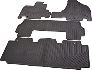 Honda All Season Floor Mats for 08P13-TK8-110 (Black)