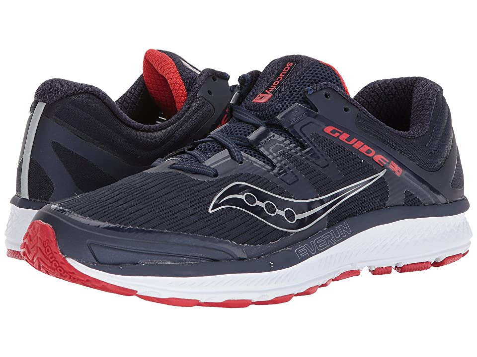 Saucony Guide ISO (Navy/Red) Men