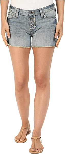 Emily Mid-Rise Relaxed Shorts in Light Boho