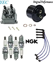 Tune Up Kit Gas Filter Cap NGK Wire Set & Plugs for Honda Civic 1.6L 1995-2000
