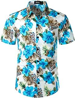 43481caa46f264 Amazon.com: Hawaiian - Shirts / Men: Clothing, Shoes & Jewelry