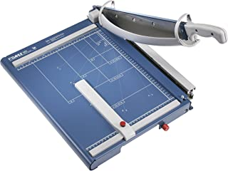 """Dahle 565 Premium Series Guillotine Lever Style Paper Trimmer, 15 1/8"""" Cut Length, 35 Sheet, Solingen Steel Self-Sharpening Blade, Safety Features, Automatic clamp, Sturdy Metal Base, Paper Cutter"""