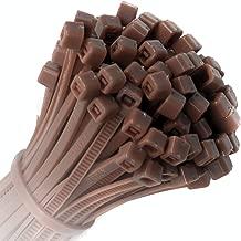 KOTiger Approx. 100pcs Self-locking nylon cable ties 100mm x 2.5mm (Zip Tie Bases)