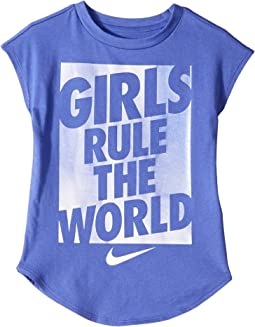Rule the World Short Sleeve Tee (Little Kids)