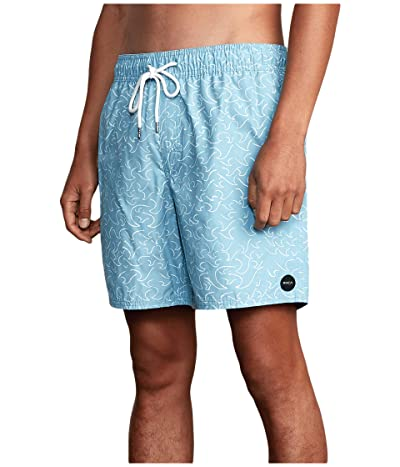 RVCA Club Elastic (Bermuda Blue) Men
