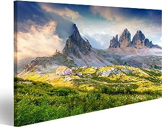 Tre cime di lavaredo Souvenir delle Dolomiti Italia Montagna Maglietta