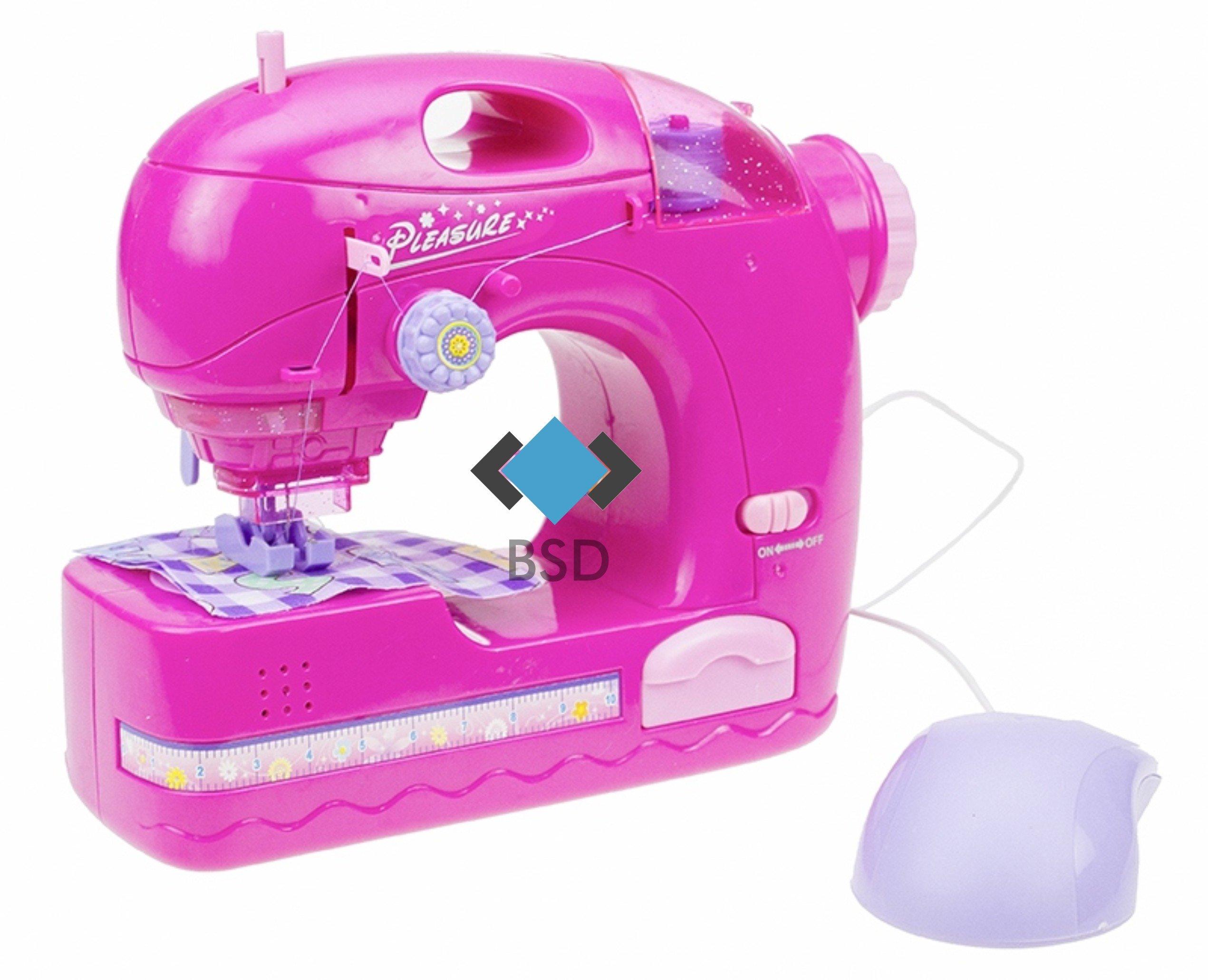 Tabla de planchar - Máquina de coser - rosa: Amazon.es: Juguetes y ...