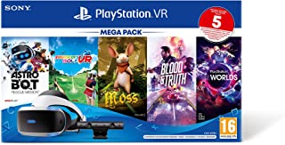 PS VR – Mega Pack V3 - PS VR headset + PS Camera +5 Giochi- Bundle