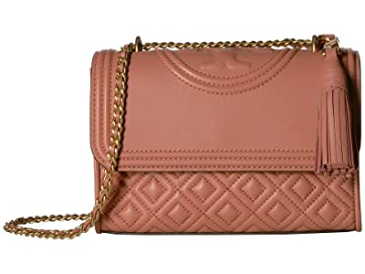 Tory Burch Fleming Small Convertible Shoulder Bag (Tramonto) Shoulder Handbags