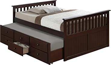 Best full size pull out bed frame Reviews