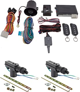 Car Alarm Anti Theft Keyless Entry + 2 Door Lock Remote Control Scytek G5