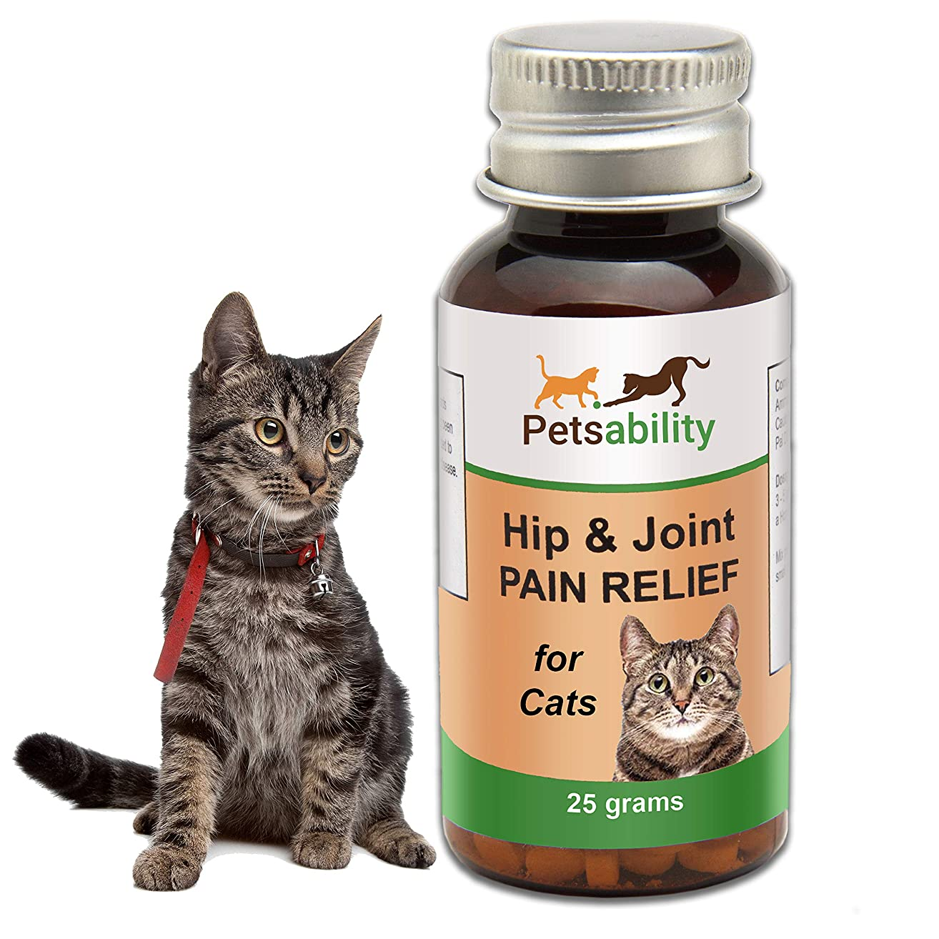Cat Hip and Joint Pain Relief; Natural Homeopathic Anti-Inflammatory Remedy for Chronic Arthritis Pain and Joint Support | Help Restore Mobility, Energy, and Flexibility