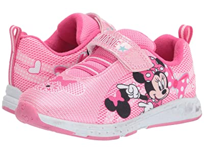 Josmo Kids Minnie Sneaker (Toddler/Little Kid) (Pink 1) Girls Shoes