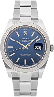 Rolex Datejust Mechanical (Automatic) Blue Dial Mens Watch 126334 (Certified Pre-Owned)