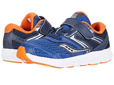 Saucony Kids S-Cohesion 13 Jr (Toddler) (Navy/Orange) Boys Shoes