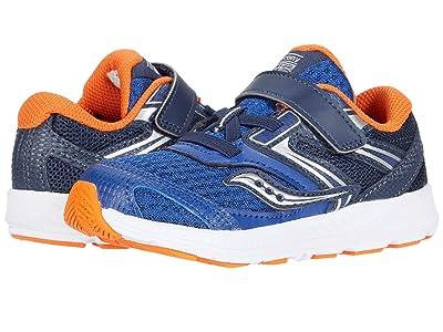 Saucony Kids S-Cohesion 13 Jr (Toddler) (Navy/Orange) Boys Shoes