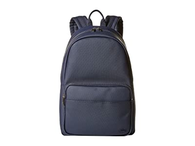 Lacoste Classic Backpack (Peacoat Blue) Backpack Bags