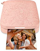 """HP Sprocket Portable 2x3"""" Instant Photo Printer (Blush Pink) Print Pictures on Zink Sticky-Backed Paper From Your iOS & An..."""