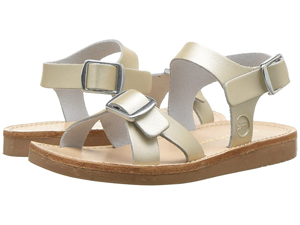 Freshly Picked Carmel Sandal (Infant/Toddler/Little Kid) (Platinum) Girls Shoes