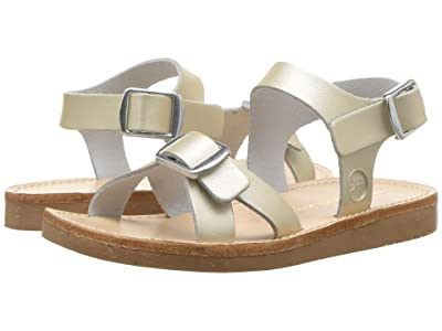 Freshly Picked Carmel Sandal (Infant/Toddler/Little Kid) (Platinum) Girls Shoes