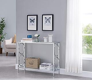 Amazon Com Glass Sofa Console Tables Tables Home Kitchen