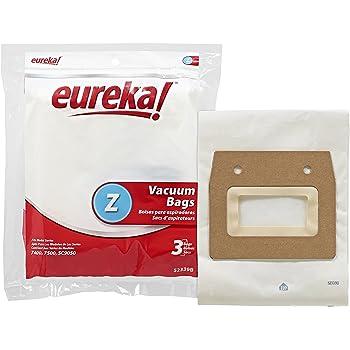 Eureka Style Z 52339B-6 Vacuum Cleaner Bags Ultra Series Type 7400 7500 SC9050