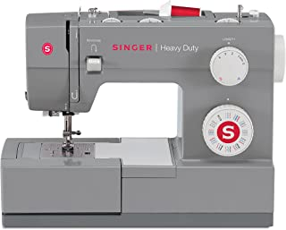 Singer | Heavy Duty 4432 Sewing Machine with 32 Built-in Stitches, Automatic Needle..