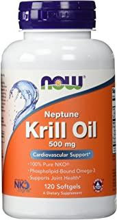 Now Foods Neptune Krill Oil 500Mg(2-pack)120 softgels