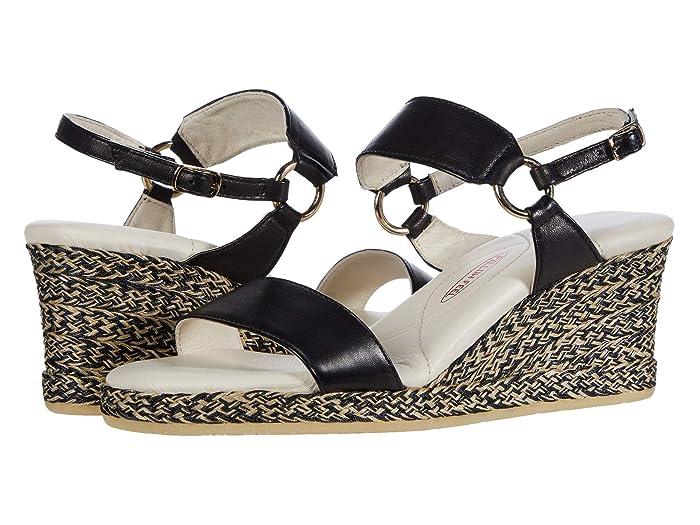 Amalfi by Rangoni  Luc (Black Parmasoft) Womens  Shoes