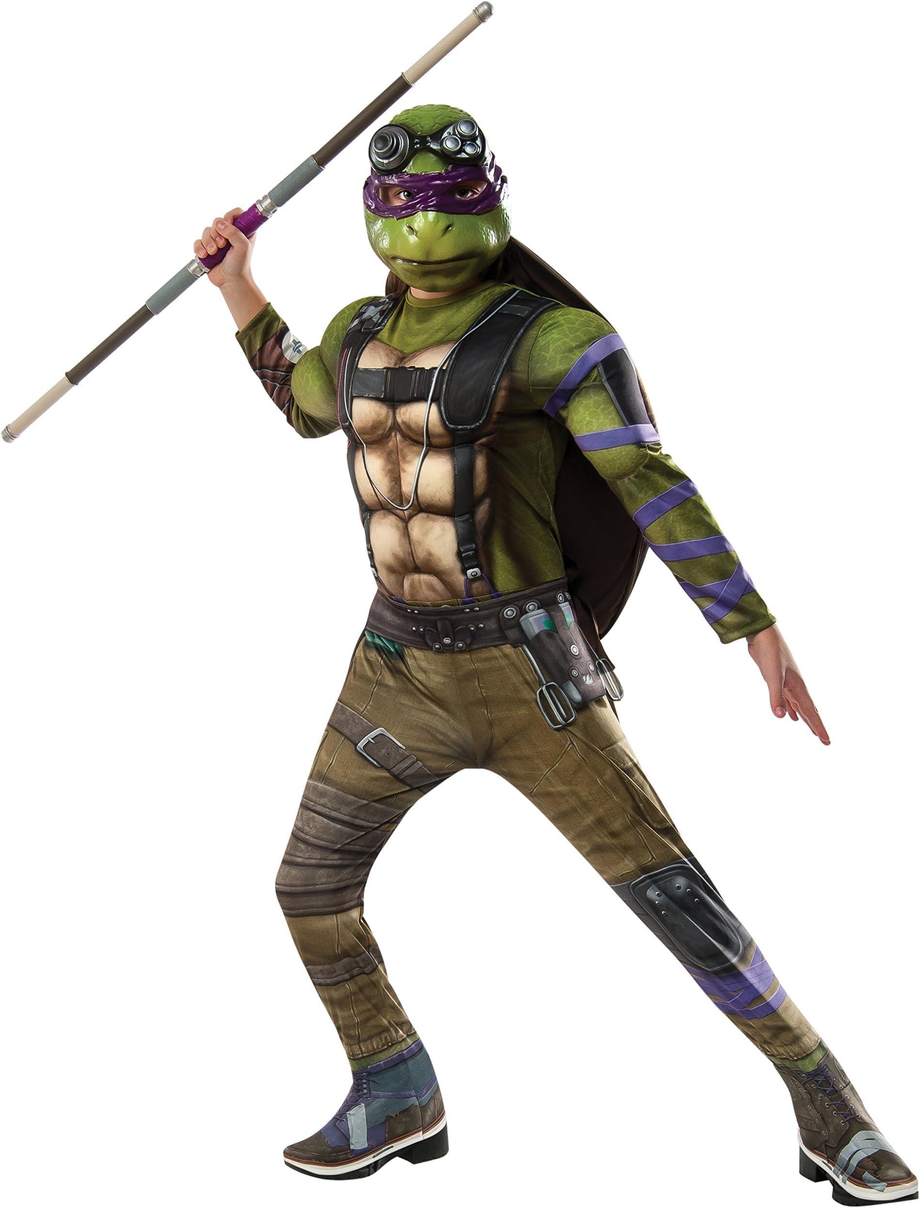 Womens Teenage Mutant Ninja Turtles Michelangelo Dress Costume X-Small XS 2-6