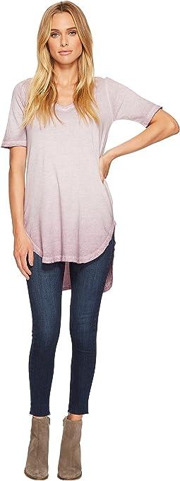 Cotton Jersey Element Wash Tunic