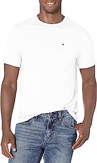 Men's Short Sleeve Crewneck T Shirt with Pocket