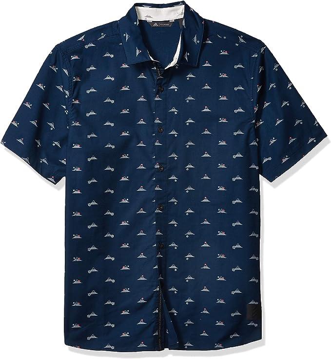 adidas Men's Adicross Button-Down Shirt