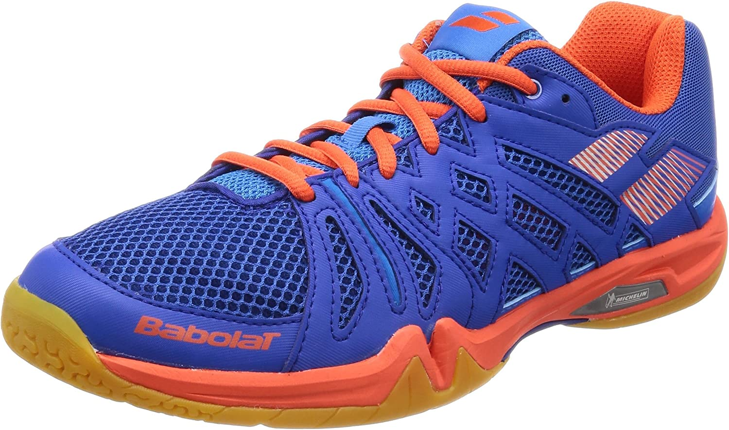 Babolat Mens Shadow Team Badminton shoes - bluee orange
