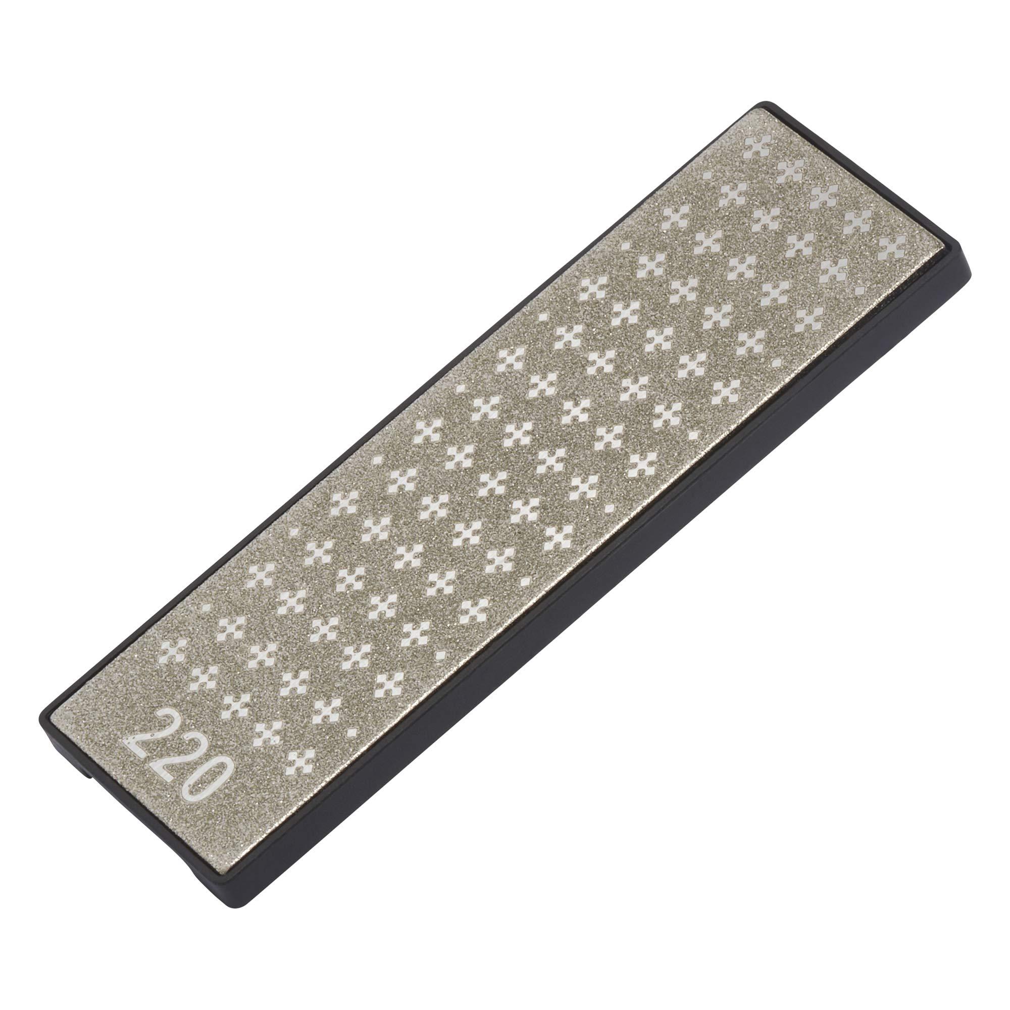 30 x 5 x 5 cm Black//Silver Victorinox Duo Sharpener of Ceramic//Plastic