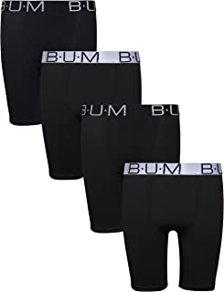 Boys' Performance Dry-Fit Compression Boxer Briefs (Pack of 4)