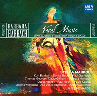 Vocal Music of Barbara Harbach