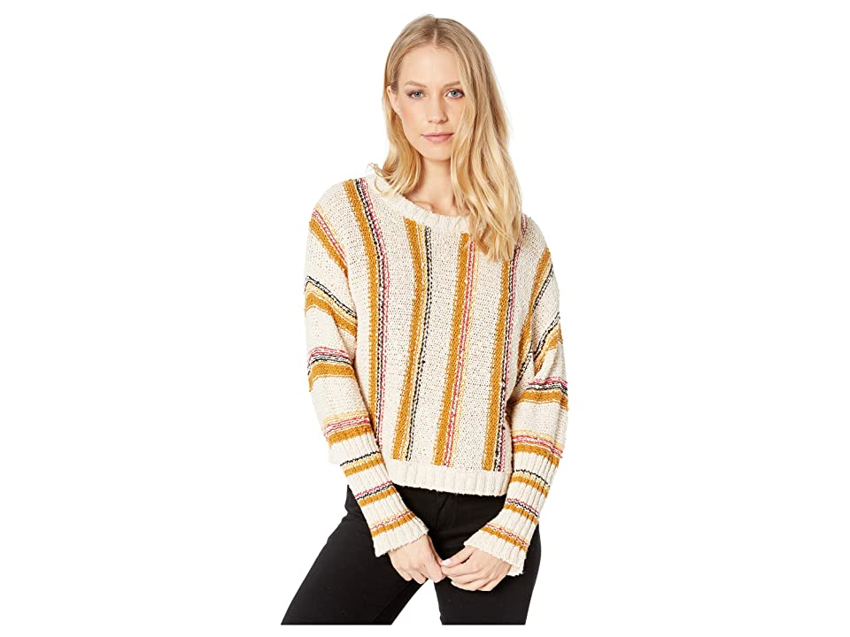 Billabong Easy Going Sweater (White Cap) Women's Sweater