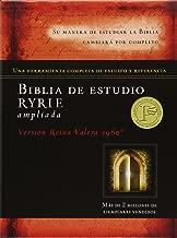 Biblia de estudio Ryrie ampliada duotono (Spanish Edition)